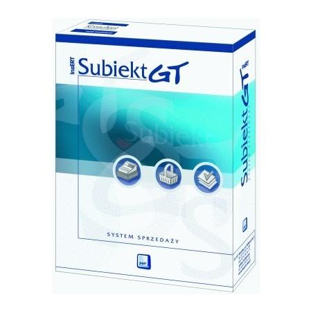 InsERT -  Subiekt GT - licencja na 3 stanowiska