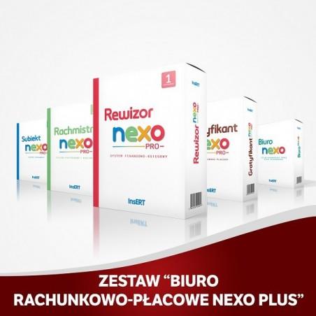 Insert - Zestaw Biuro rachunkowo-płacowe nexo Plus