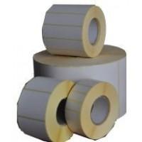 Etykiety termotransferowe papier  50x80 mm - 1000 szt gilza fi 40