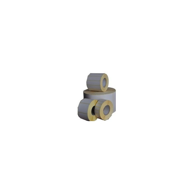 Etykiety termiczne papier 35x20  mm - 2000 szt gilza fi 40
