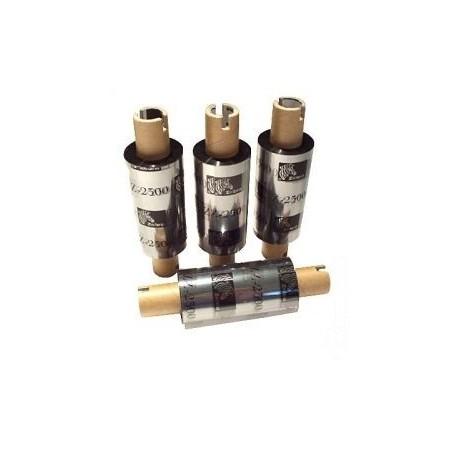Zebra - ekonomiczna taśma woskowo-żywiczna serii 3300 - 110mm x 74m do Zebra TLP 2844 GK GX folia wosk żywica